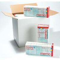 100% recyklované  kapesníky balené 4vrstvé  Memo